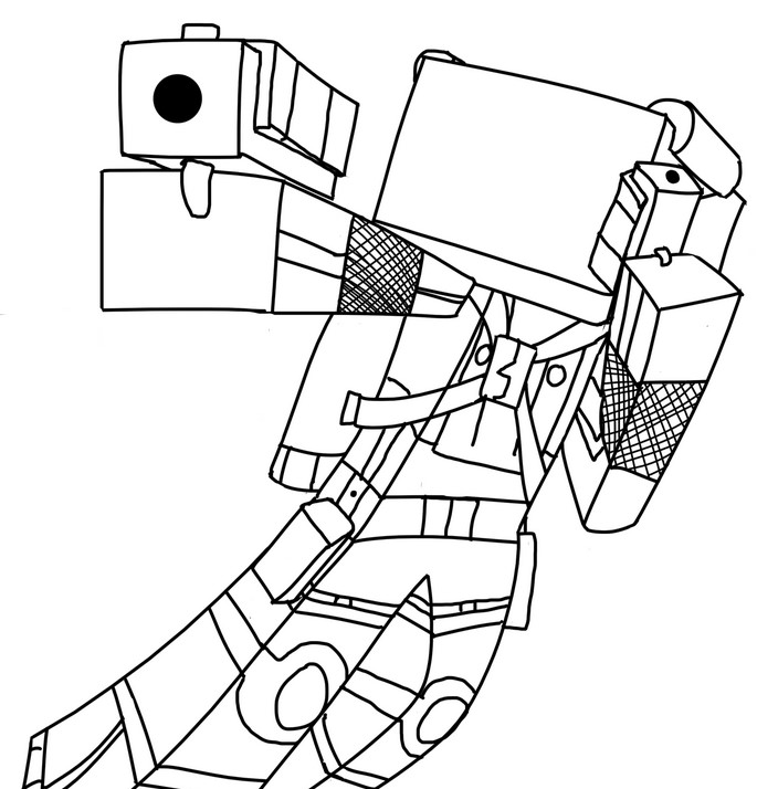 minecraft coloring pages herobrine seven things you didnt know about minecraft coloring pages herobrine coloring minecraft