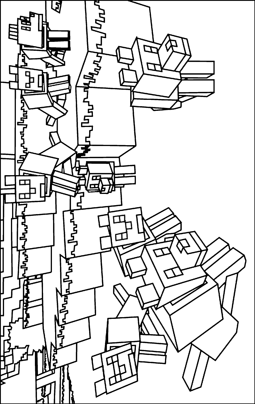 minecraft coloring sheet minecraft for kids minecraft kids coloring pages coloring sheet minecraft