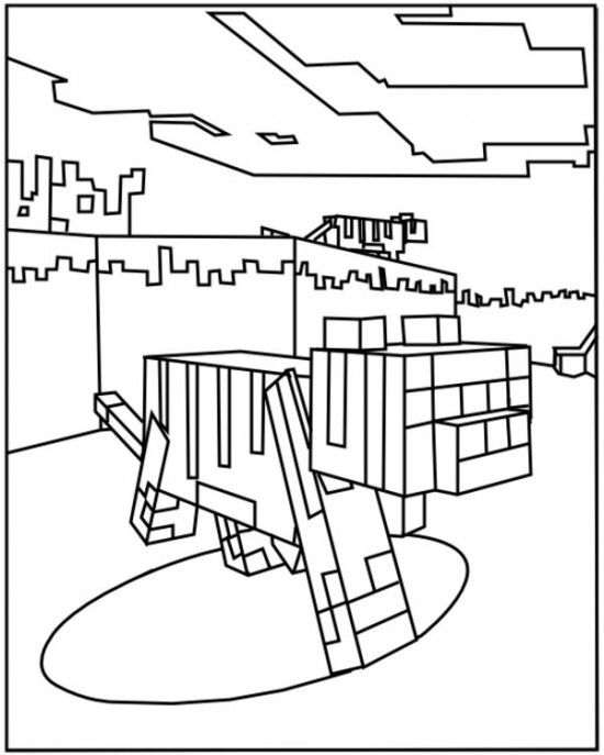 minecraft ocelot coloring pages 224 best images about kolorowanki coloring pages on pages coloring ocelot minecraft