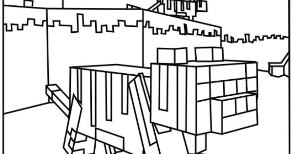 minecraft ocelot coloring pages minecraft coloring pages ocelot free printables and minecraft pages ocelot coloring