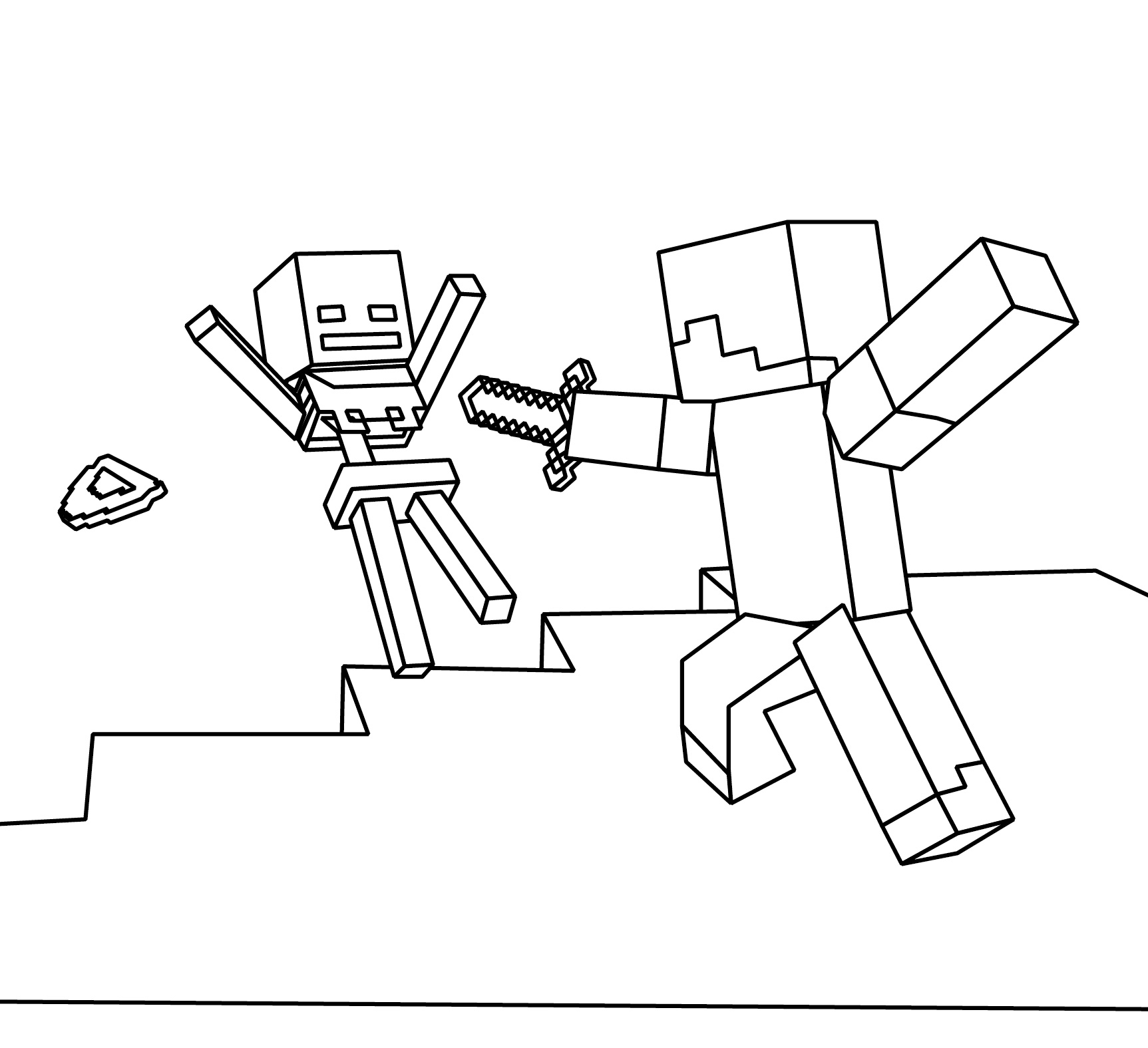 minecraft ocelot coloring pages minecraft ocelot coloring pages at getcoloringscom free ocelot pages minecraft coloring