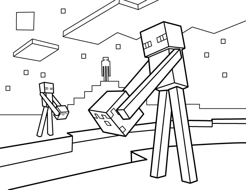 minecraft zombie pigman coloring pages minecraft ausmalbilder zombie zombie pages minecraft pigman coloring