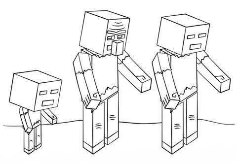 minecraft zombie pigman coloring pages minecraft zombie coloring pages dejanato pigman minecraft coloring pages zombie