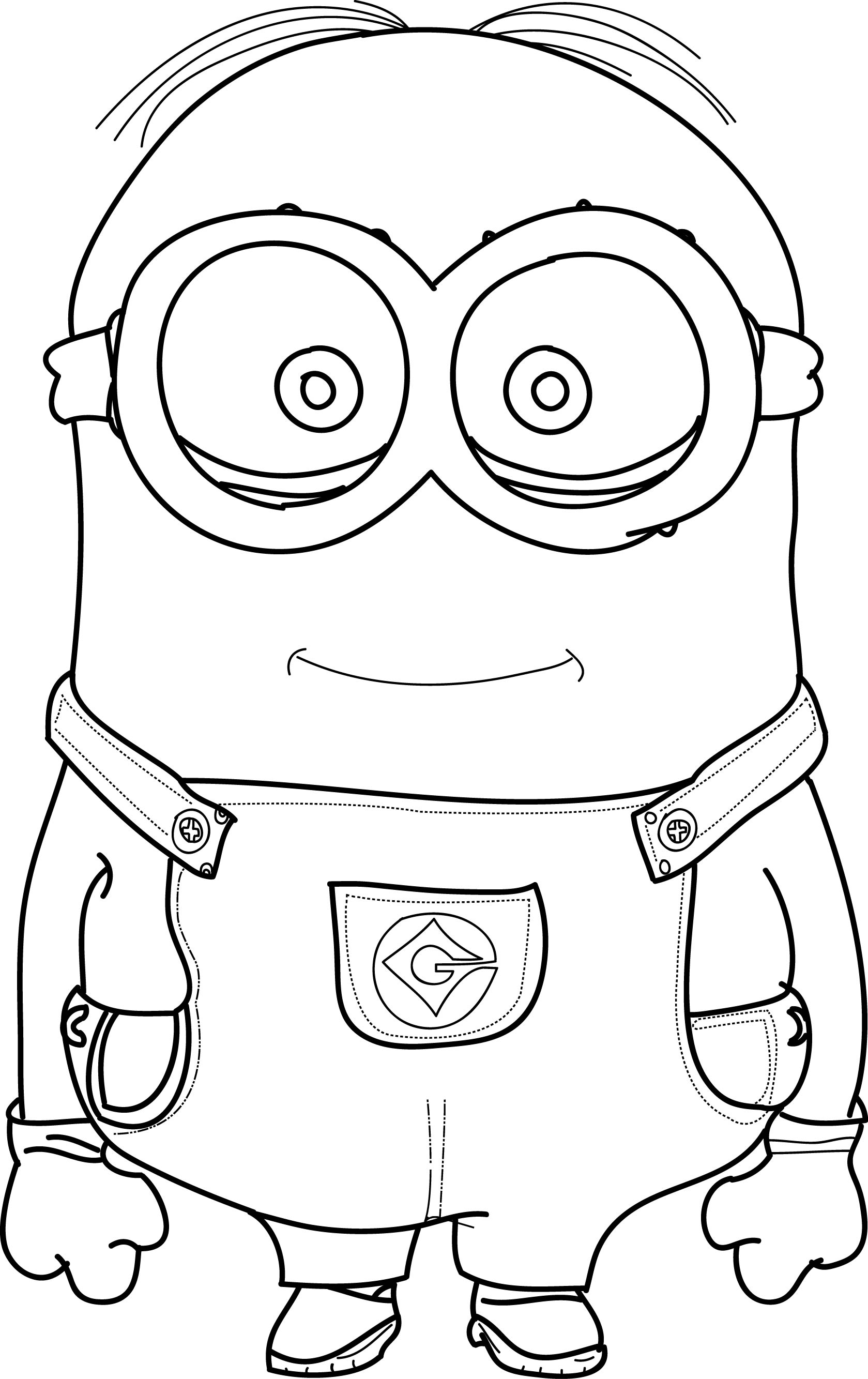 minion kevin coloring pages free minion coloring pages at getdrawings free download minion pages kevin coloring