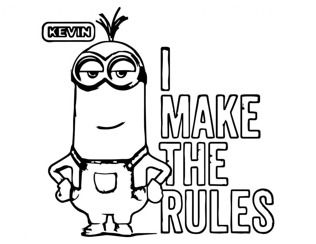 minion kevin coloring pages minion coloring pages kevin at getcoloringscom free kevin coloring pages minion