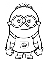 minion kevin coloring pages minion coloring pages kevin at getcoloringscom free minion pages kevin coloring