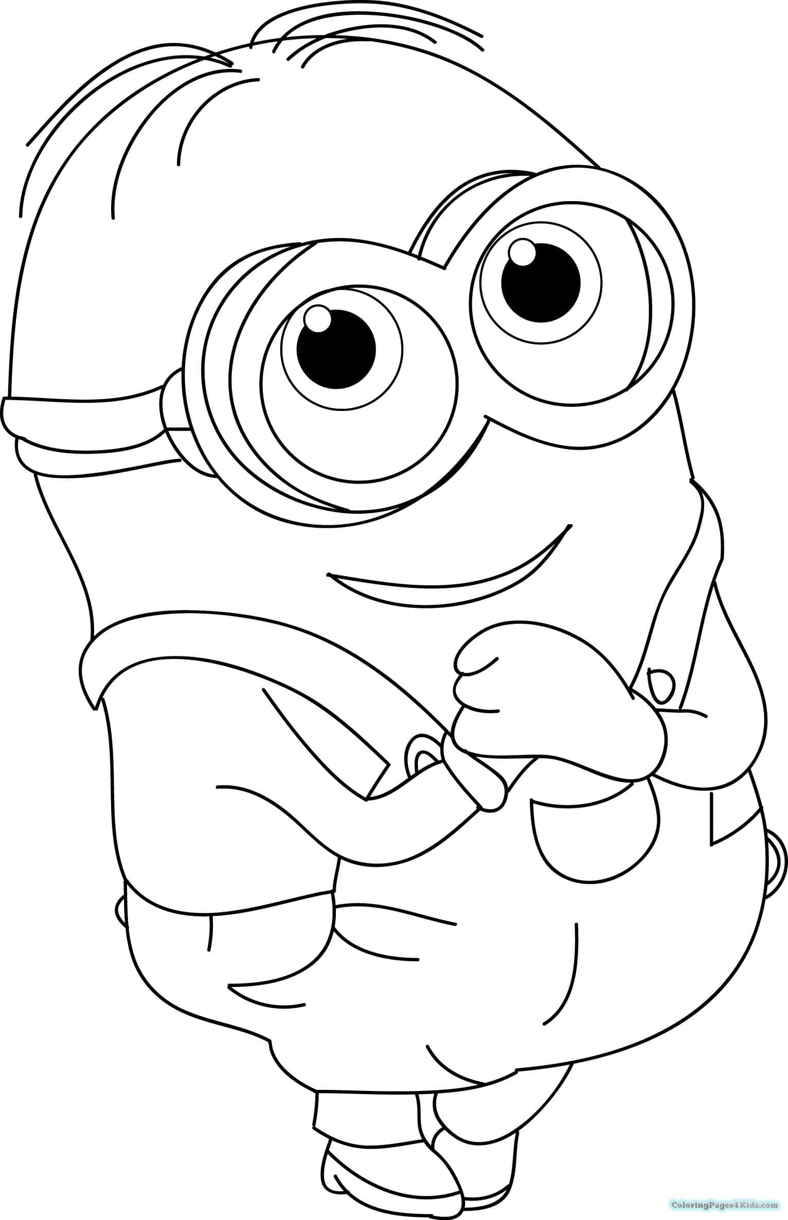 minion kevin coloring pages minion kevin playing golf coloring page free printable pages coloring minion kevin