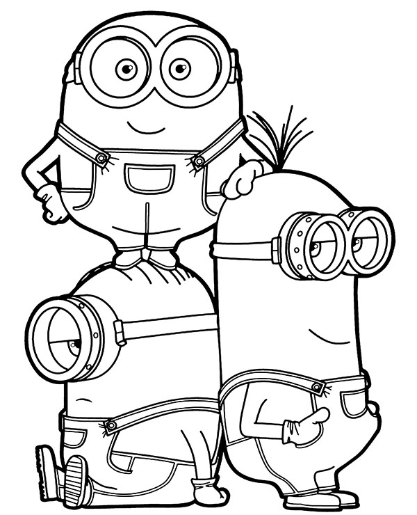 minion kevin coloring pages minions coloring pages printable games minion coloring kevin pages