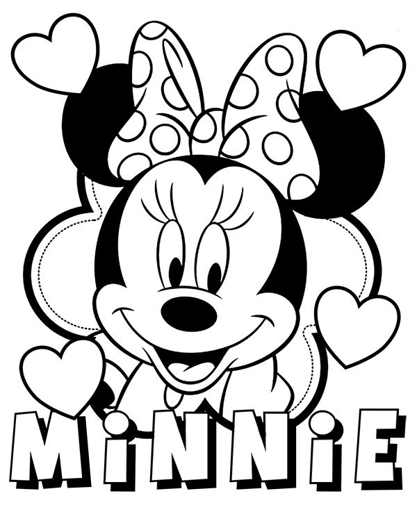 minnie mouse color sheets printable minnie mouse coloring pages for kids minnie sheets mouse color