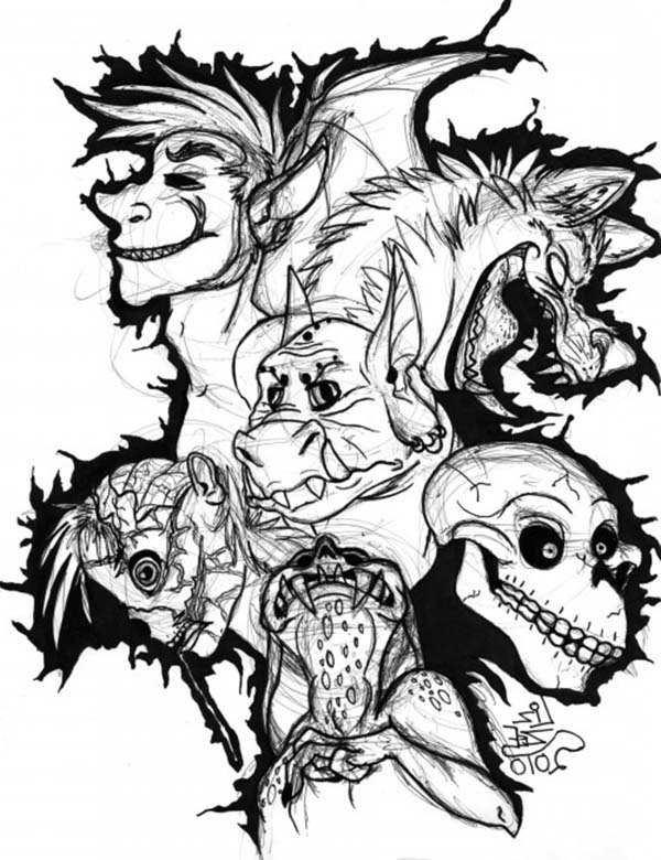monster face coloring pages cookie monster face clipart best monster face coloring pages