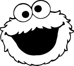 monster face coloring pages cookie monster face coloring pages get coloring pages face pages coloring monster