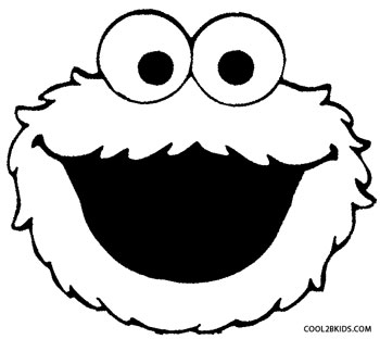 monster face coloring pages cookie monster silly face coloring pages coloring sky face coloring monster pages