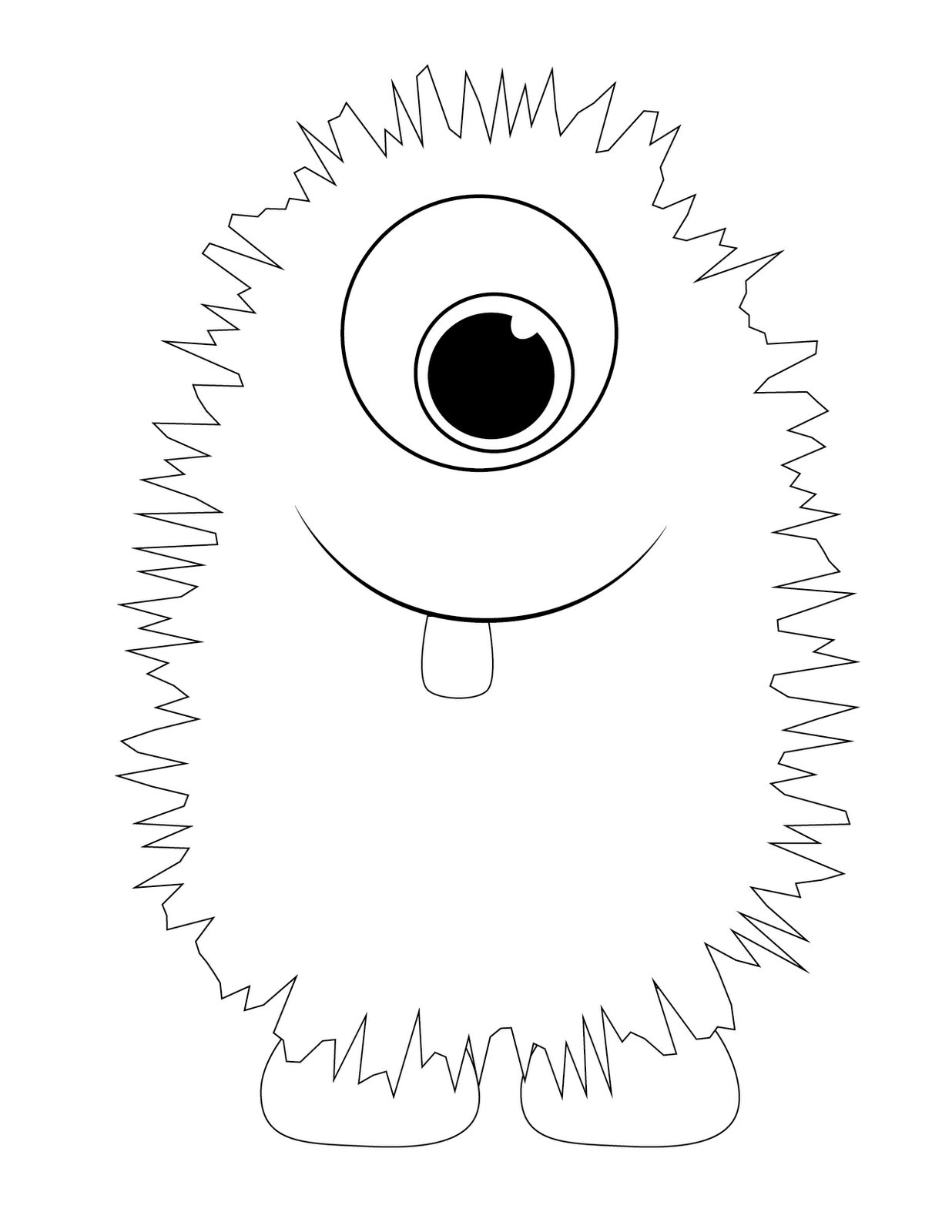 monster face coloring pages free printable monster coloring pages for kids face pages coloring monster