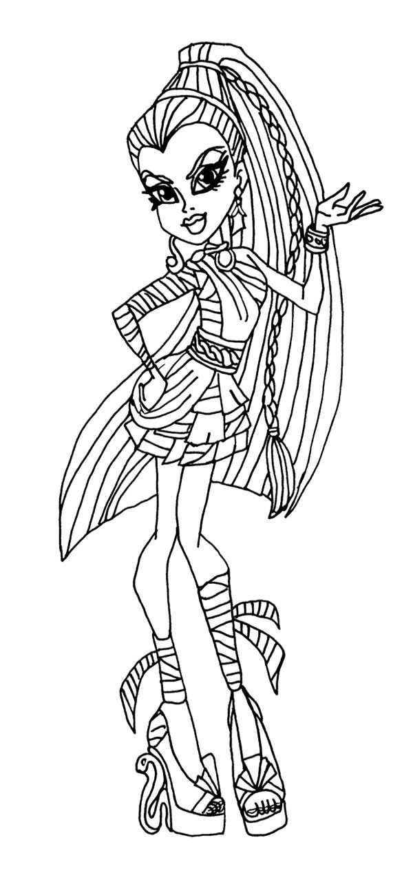 monster high coloring in coloring pages monster high coloring pages free and printable coloring in high monster