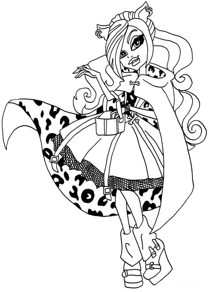 monster high coloring in coloring pages monster high coloring pages free and printable monster in high coloring