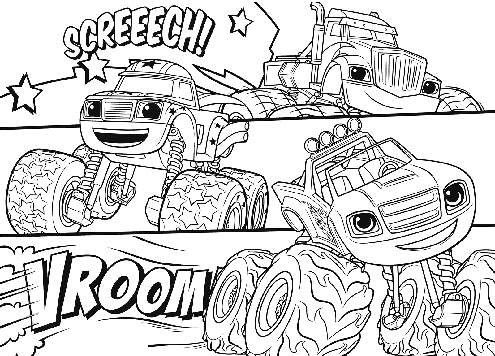 monster machine coloring pages blaze and the monster machines coloring pages best machine monster pages coloring