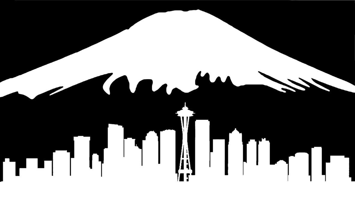 montana silhouette library of mount rainier free stock png files clipart art 2019 silhouette montana