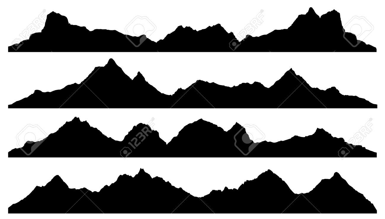 montana silhouette royalty free rf clipart illustration of a black map of montana silhouette