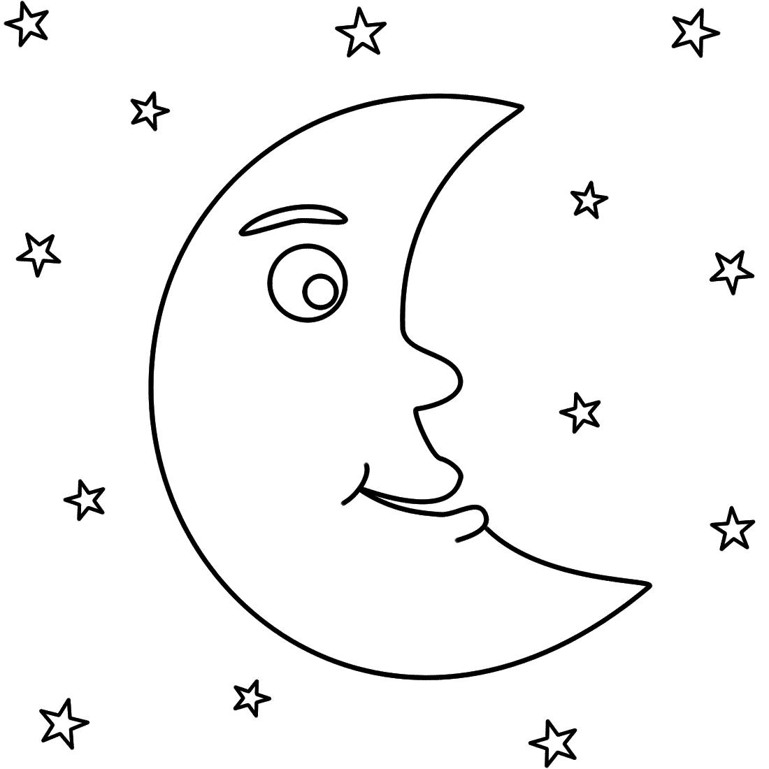 moon coloring pages moon coloring pages to download and print for free moon pages coloring