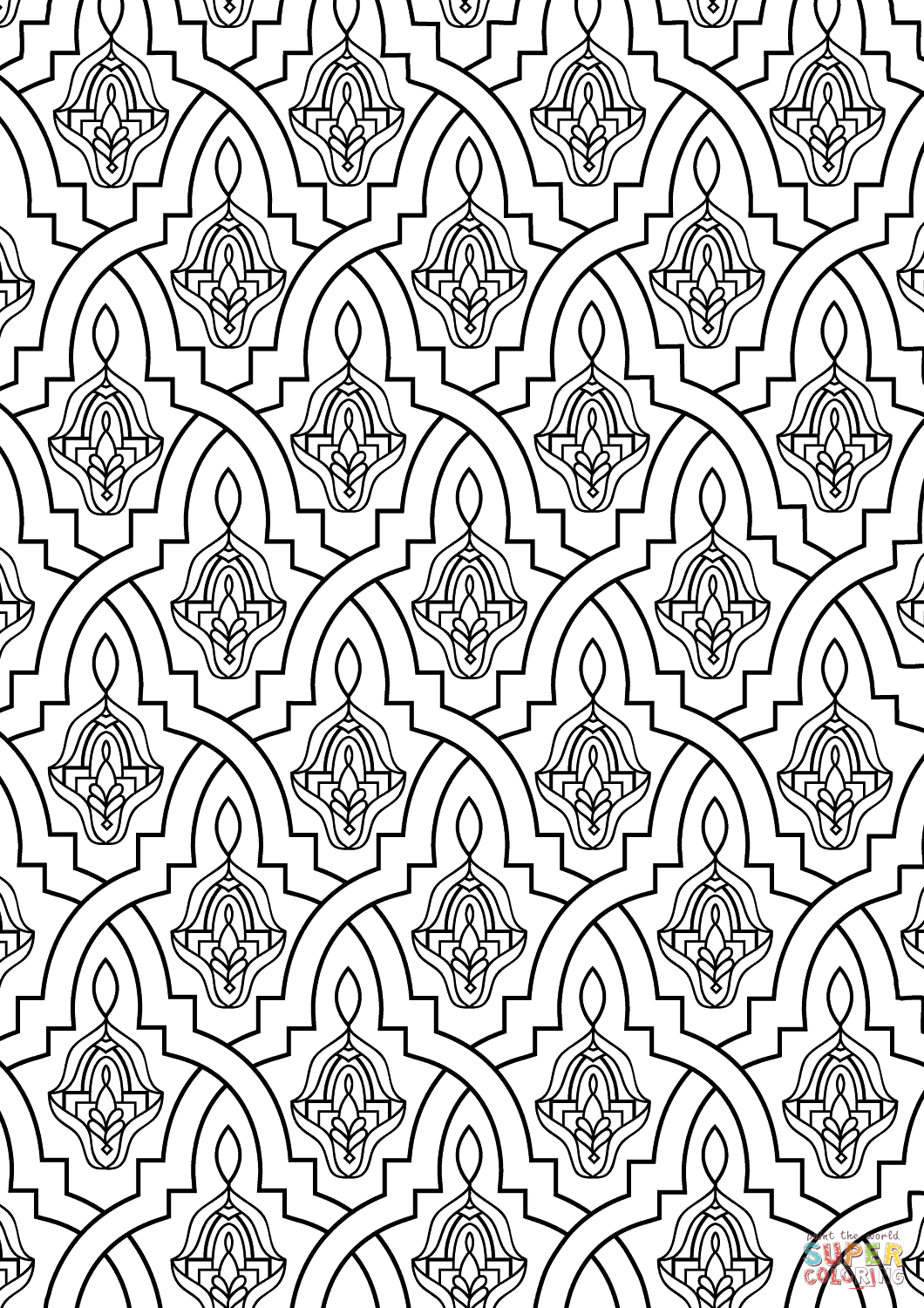 morocco coloring pages moroccan tile coloring page free printable coloring pages coloring pages morocco