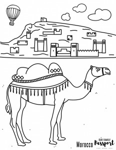 morocco coloring pages morocco desert coloring page our family passport coloring pages morocco