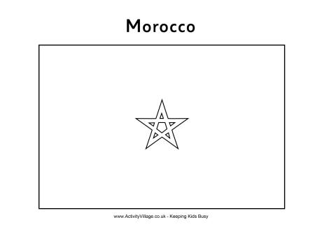 morocco coloring pages morocco flag coloring page coloring morocco pages