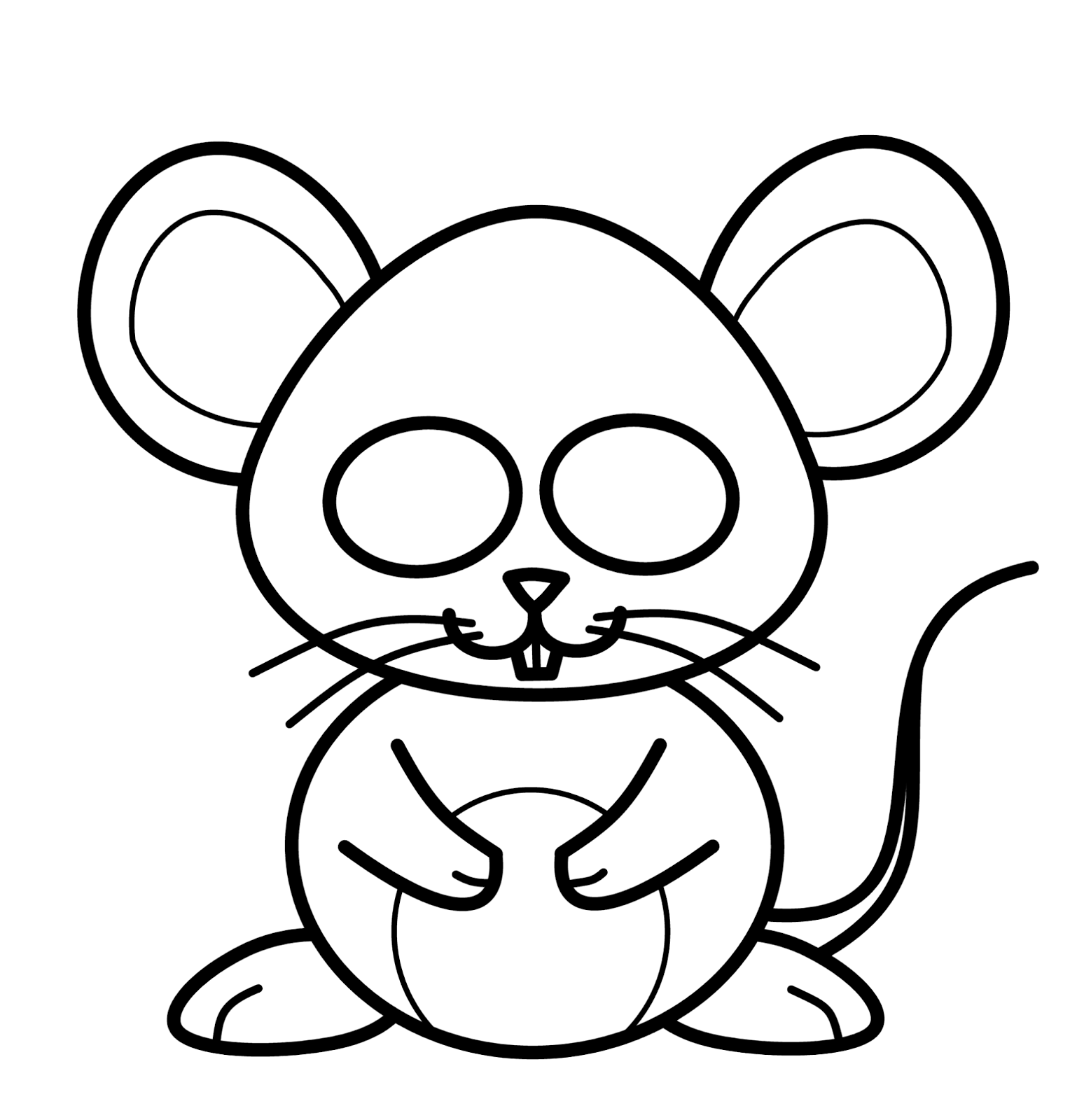 mouse drawing how to draw a mouse draw central drawing mouse