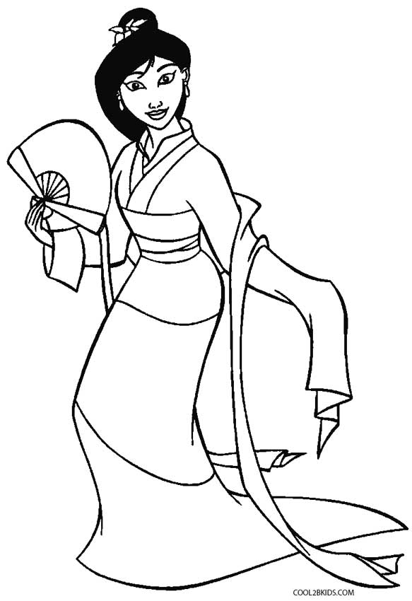 mulan coloring pages free mulan coloring pages disney coloring pages princess free coloring mulan pages