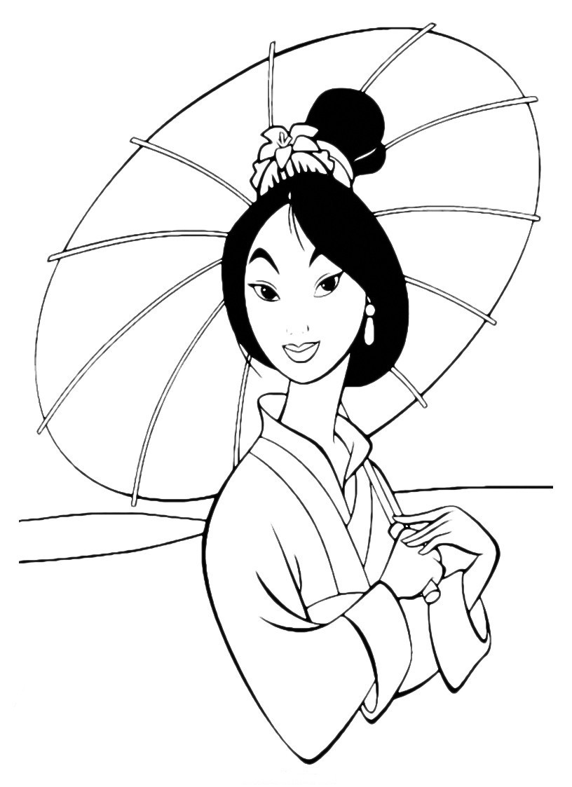 mulan for coloring mulan coloring pages to download and print for free for coloring mulan