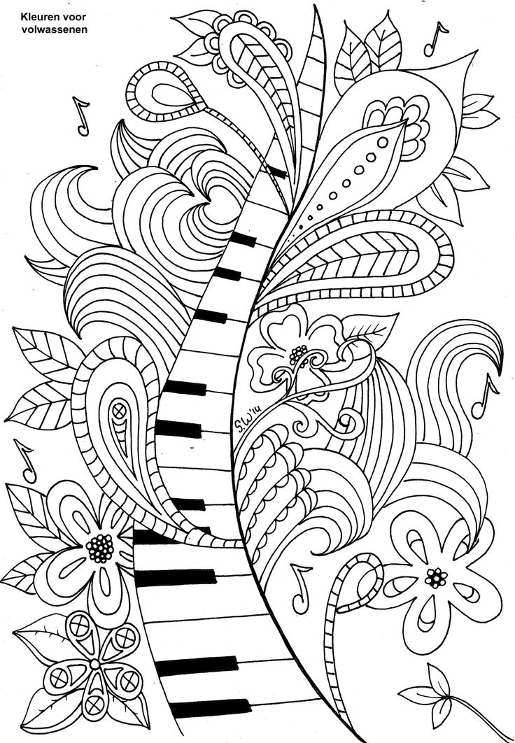 music coloring pages free 20 free printable music coloring pages everfreecoloringcom coloring music pages free
