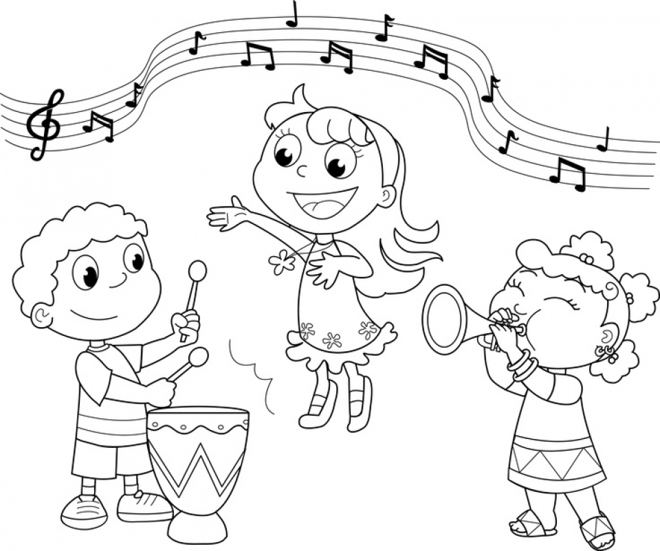 music coloring pages free free printable music note coloring pages for kids pages free coloring music 1 1