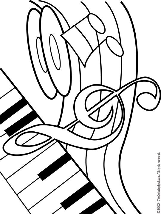 music coloring pages free music note coloring pages kidsuki coloring pages free music