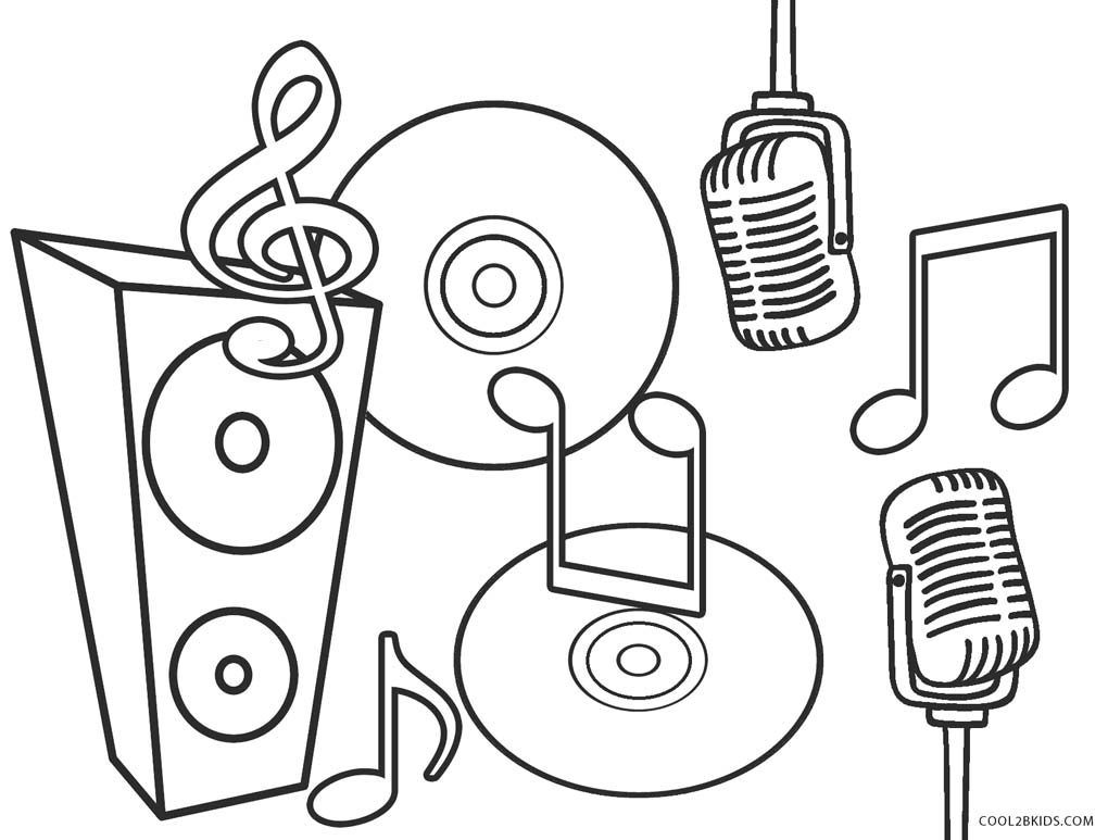 music coloring pages free top 10 free printable music notes coloring pages online coloring free music pages