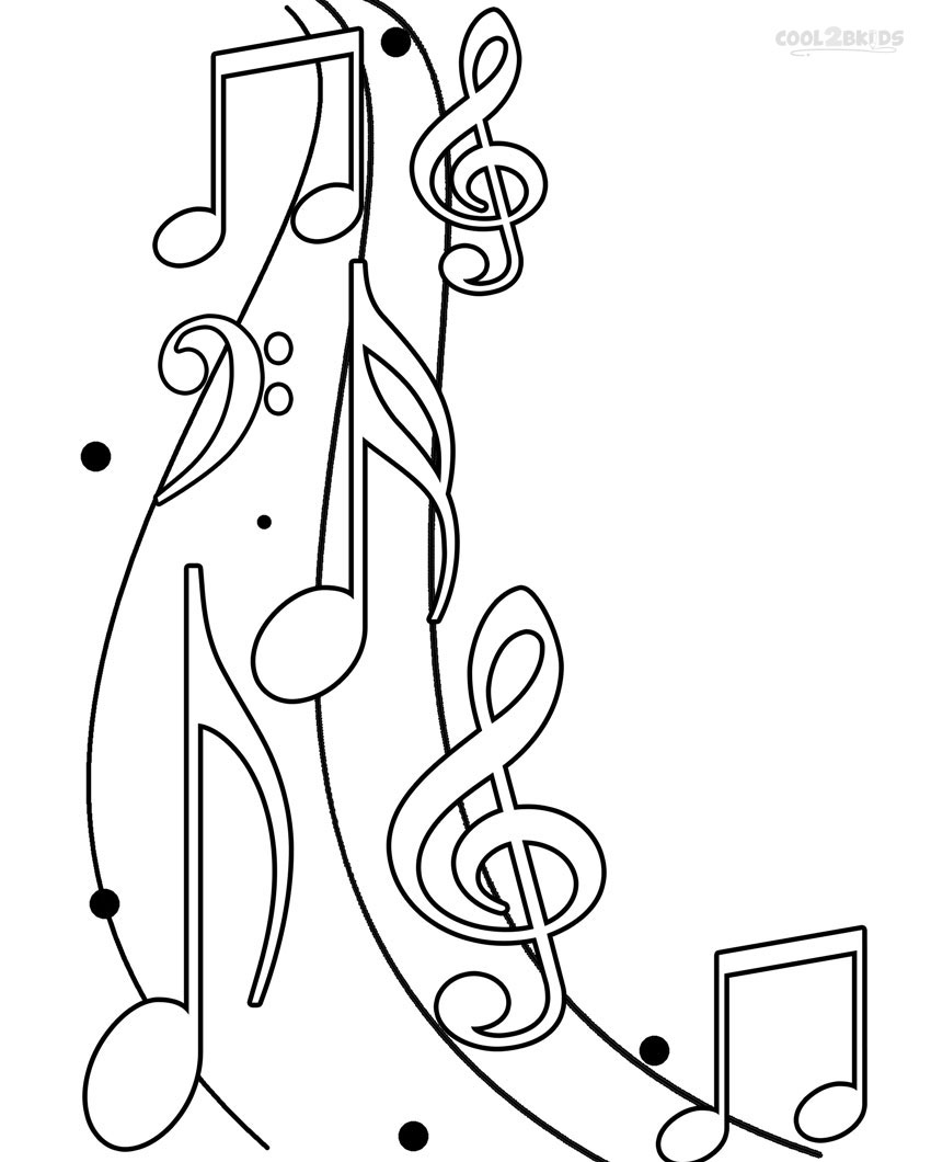 music note coloring pages free printable music note coloring pages for kids coloring music note pages