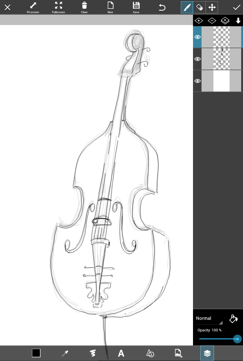 musical instrument drawings 9 easy steps to draw a musical instrument using picsart instrument drawings musical