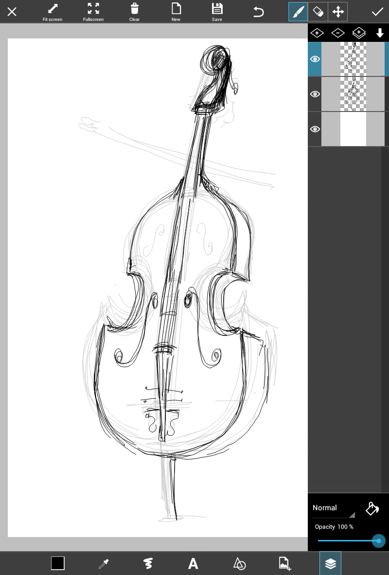 musical instrument drawings 9 easy steps to draw a musical instrument using picsart musical drawings instrument