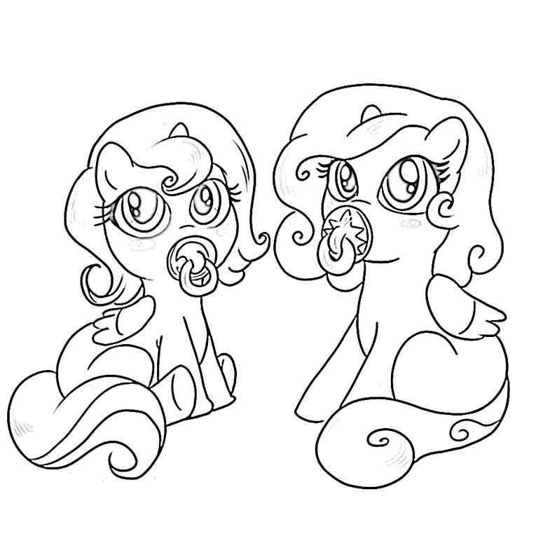 my little pony friendship is magic colouring pictures to print kids page my little pony friendship is magic baby magic little print pictures is pony to colouring friendship my