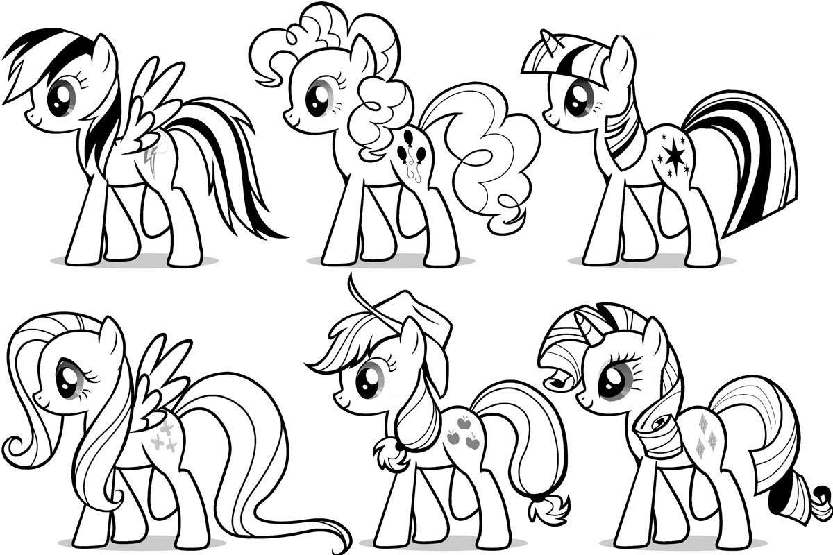 my little pony friendship is magic colouring pictures to print my little pony colouring sheets mane ponies my little little is magic colouring print pony to friendship pictures my
