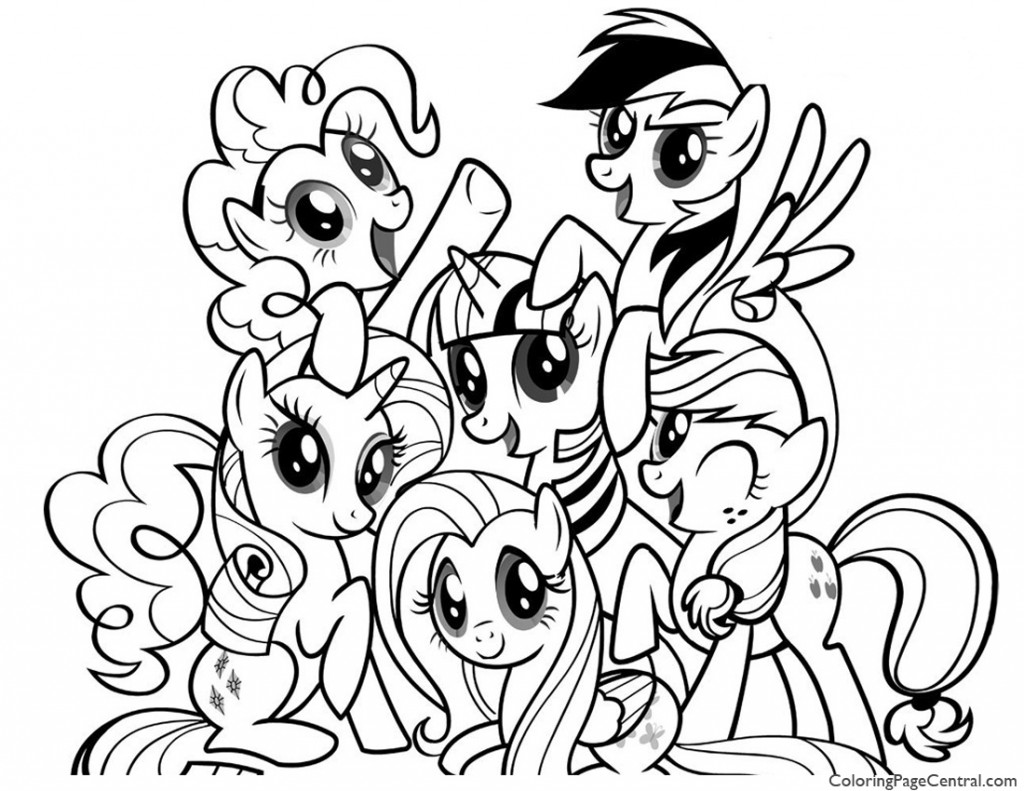my little pony friendship is magic colouring pictures to print my little pony friendship is magic 01 coloring page to pony magic colouring my is print little pictures friendship