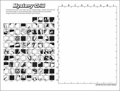 mystery picture coloring grid 6 best images of adult printable grid drawing grid coloring grid picture mystery