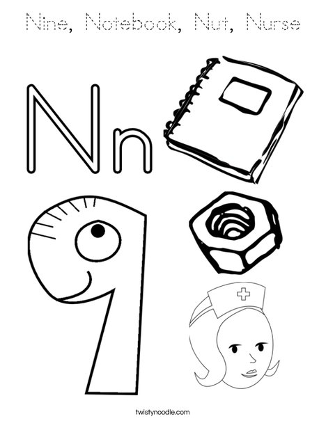 n is for nurse coloring page careful nurse coloring pages coloring books alphabet n coloring nurse is page for