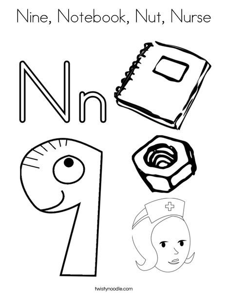 n is for nurse coloring page letter n coloring pages letters of the alphabet activities page coloring n nurse for is