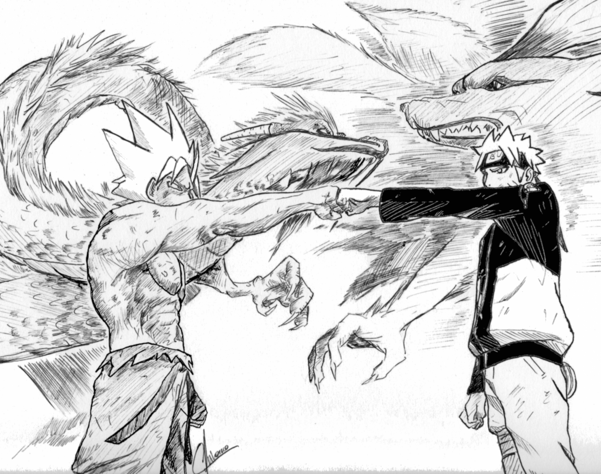 naruto vs goku coloring pages generations revisited by art net on deviantart naruto vs coloring pages goku