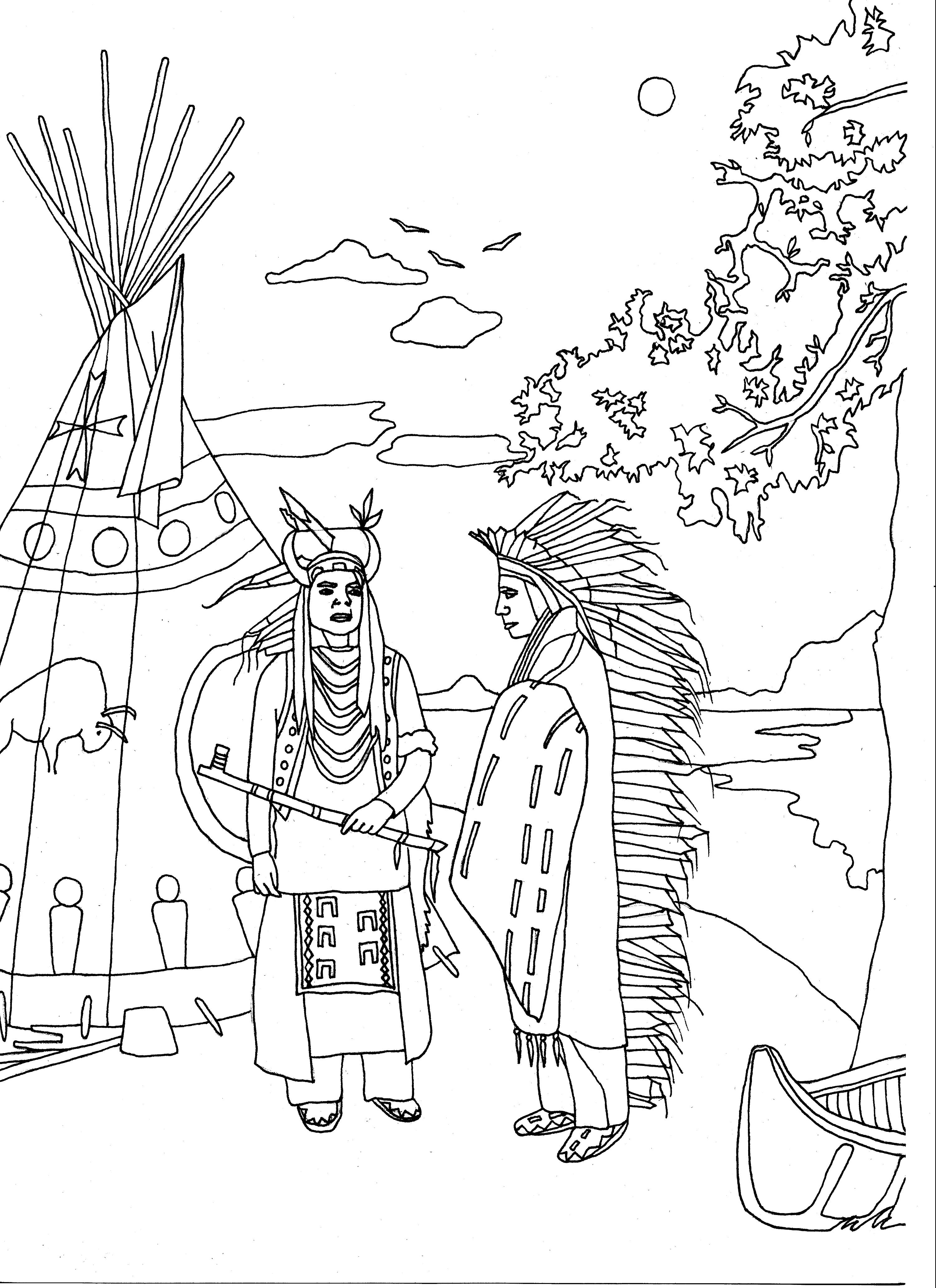 native american coloring sheets native american coloring pages to download and print for free coloring sheets american native 1 1