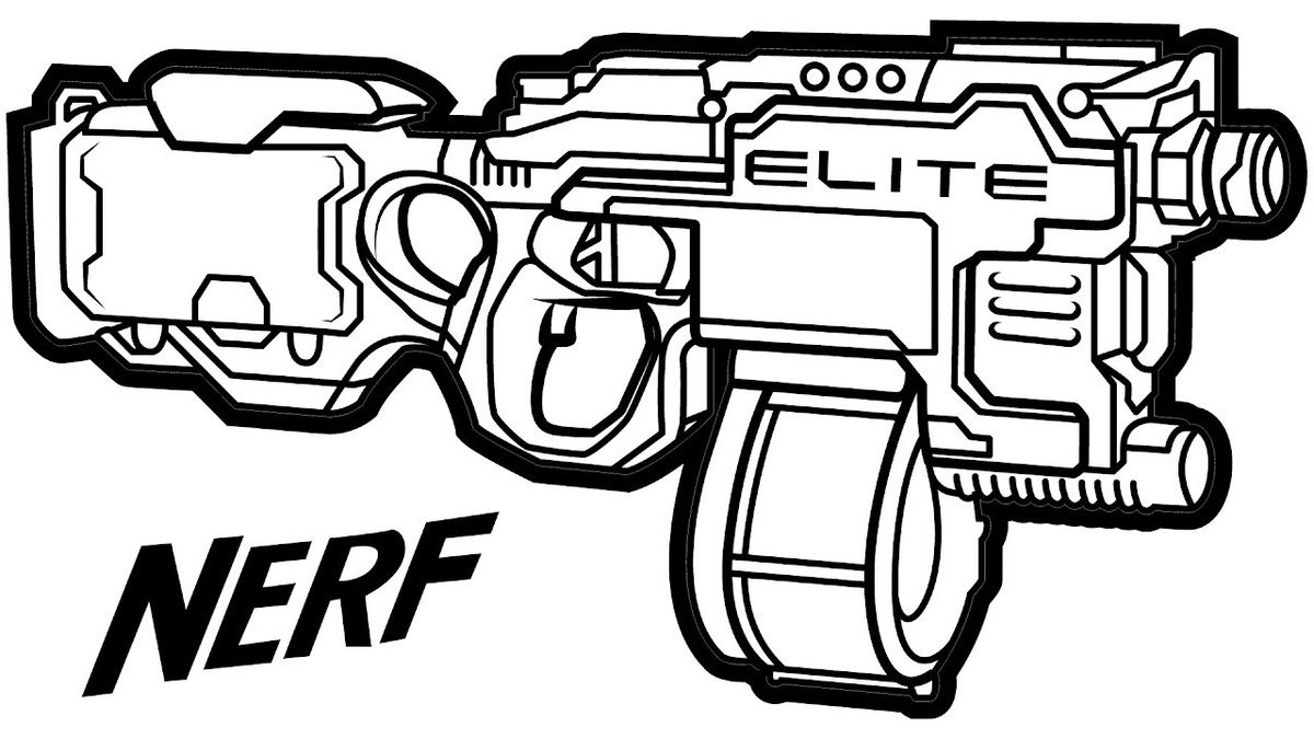 nerf gun colouring pages pin on toys and action figure coloring pages colouring nerf pages gun