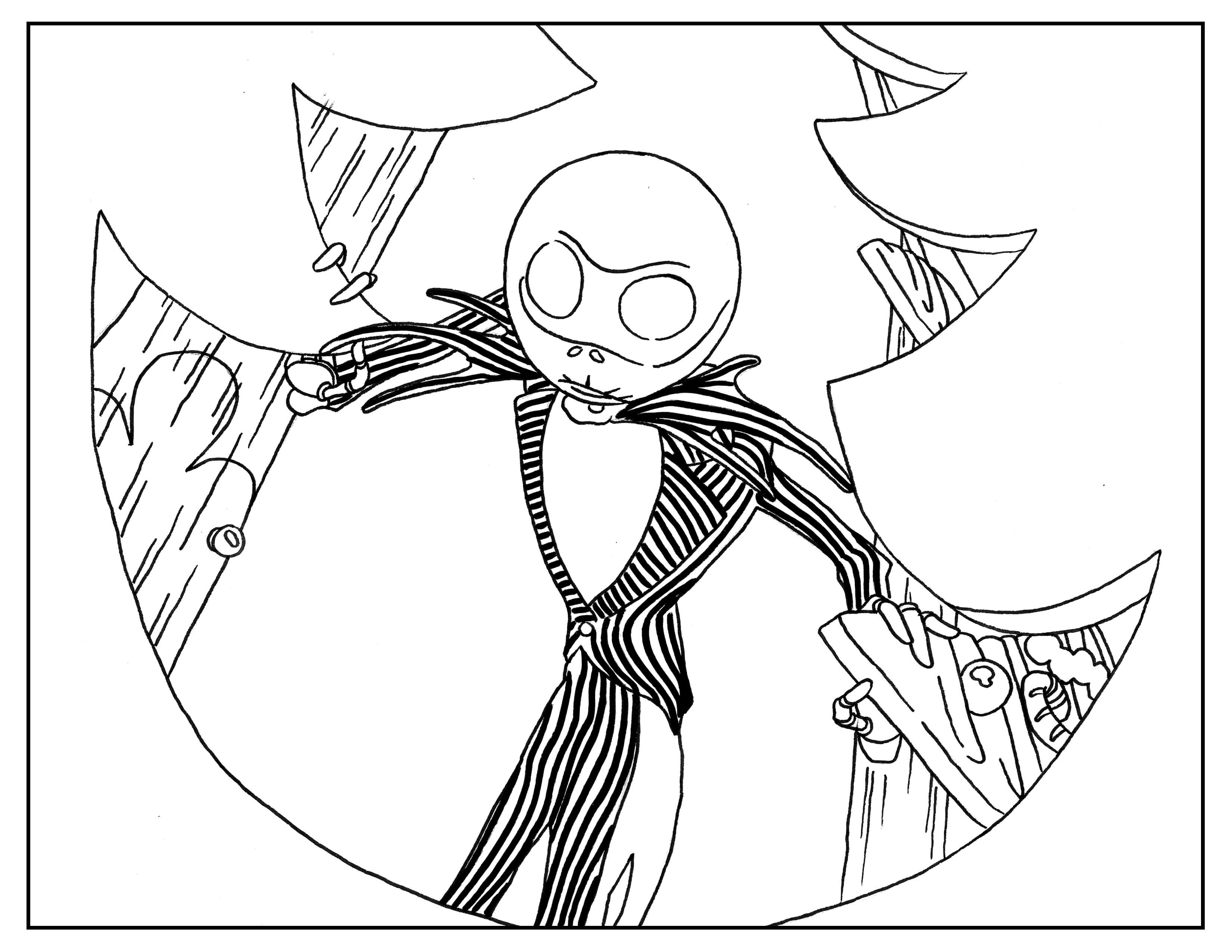 nightmare before christmas coloring free printable nightmare before christmas coloring pages christmas coloring before nightmare