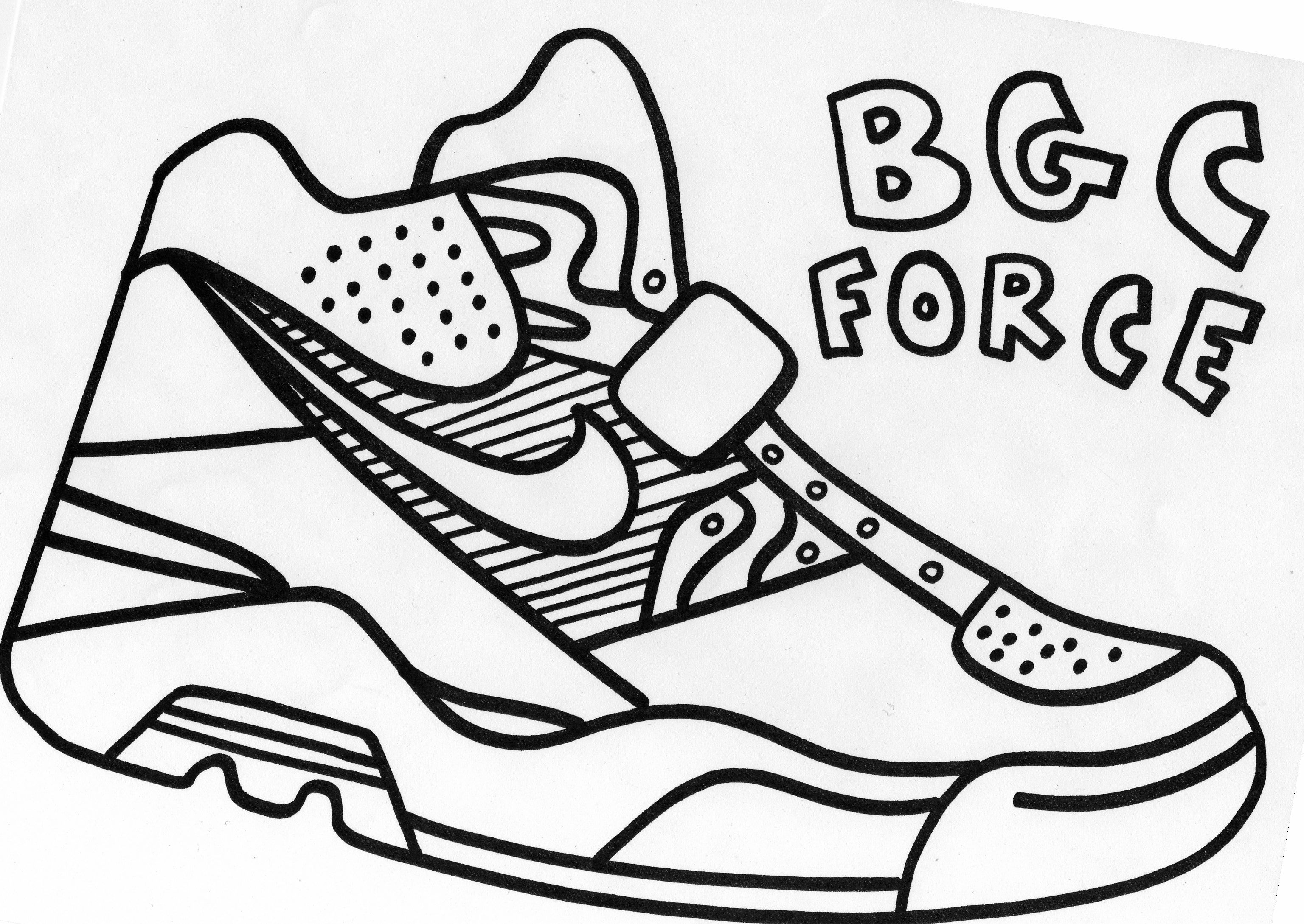 nike coloring sheets nike coloring pages coloring home coloring nike sheets