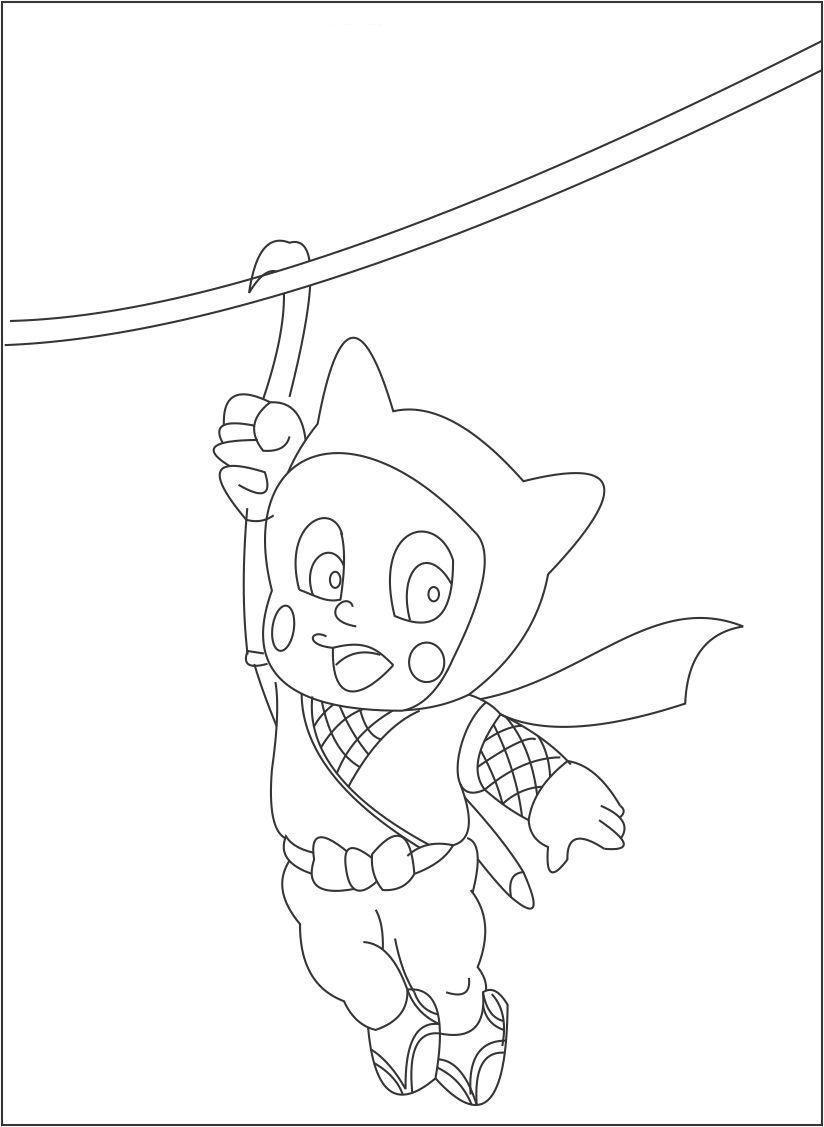 ninja hattori coloring pages huge collection of ninja hattori colouring pages hattori coloring ninja pages