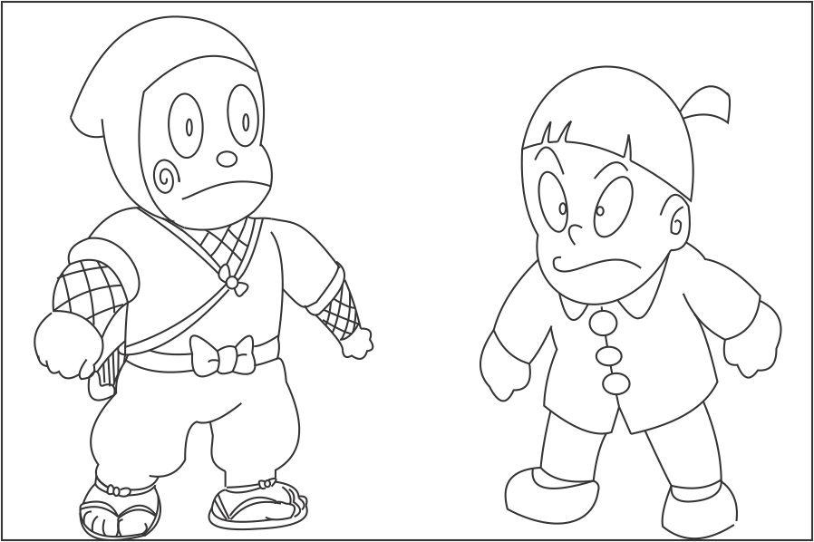 ninja hattori coloring pages huge collection of ninja hattori colouring pages ninja hattori pages coloring
