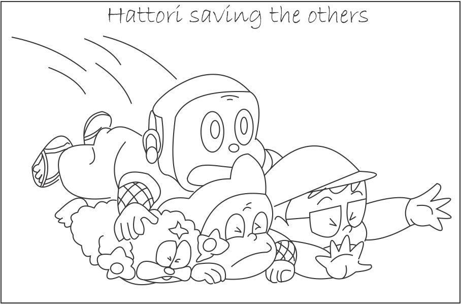 ninja hattori coloring pages huge collection of ninja hattori colouring pages pages ninja coloring hattori
